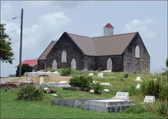 Photo: In celebration of the Lord's Day, here is a #Nevis Church.