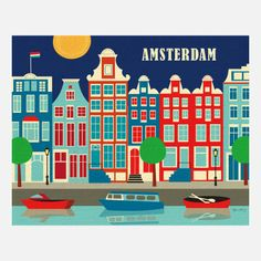 Amsterdam Poster / by Karen Young