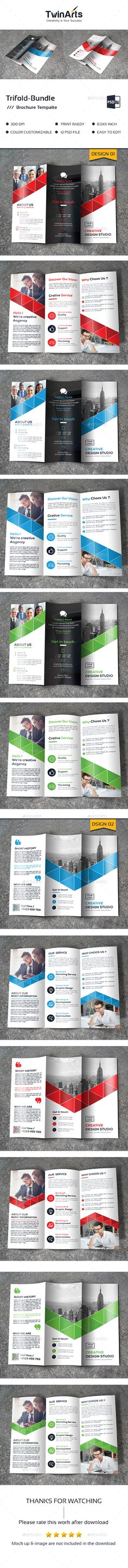 Oswald Landscape Brochure - download brochure templates for microsoft word