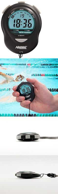 Stopwatches 166149: Marathon Marathon St083013 Adanac Digital Glow Stopwatch Timer Battery New -> BUY IT NOW ONLY: $32.94 on eBay!