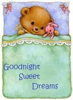 Decent image scraps good night cards pinterest scrap bears good night altavistaventures Images