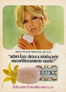 Sabonete Lux (e Jane Fonda!)
