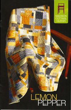 """Lemon Pepper Starter Pack Finished Quilt Size (Throw Size): 56"""" x 63"""""""