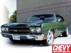 1966 Chevy Impala Ss this Is not a Chevy Impals!  It's a Chevelle...not crazy bout the green...but still sweet ride!!