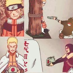 Naruto and the Sasuke family