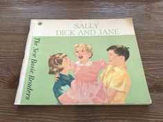 Sally, Dick and Jane: the New Basic Readers Book (1962) by BourgettesBookshelf on Etsy