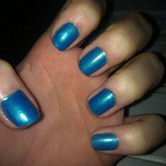 Plain blue