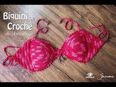 top crochet passo a passo ile ilgili görsel sonucu Tops A Crochet, Top Crop Tejido En Crochet, Crochet Bikini Pattern, Crochet Lace Edging, Crochet Skirts, Love Crochet, Diy Crochet, Crochet Clothes, Crochet Baby