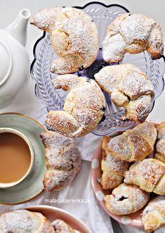Proste Rogaliki z Dżemem Doughnut, Food And Drink, Baking, Breakfast, Humor, Per Diem, Morning Coffee, Cheer, Patisserie