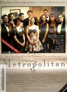 """A """"Metropolitan"""" poster with some opaque connection to a Nordic/Germanic language."""