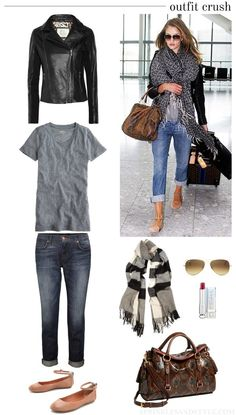 Airport Style/Like the shorts Fall Outfits, Casual Outfits, Cute Outfits, Travel Outfits, Travel Wardrobe, Travel Wear, Travel Capsule, Vacation Outfits, Capsule Wardrobe