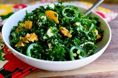 Kale Citrus Salad from the Pioneer Woman
