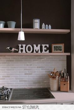 element dekoracji w kuchni