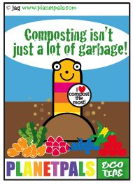 Let Squirmey Wormey teach you about composting Grape Tree, Green Bin, Waste Container, Yard Waste, Daisy Girl Scouts, New Years Party, Biodegradable Products, Make It Simple, Homeschool