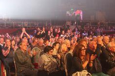 El público del Festival Nacional del Tango 2016 disfruta la primera gala en #LaFalda