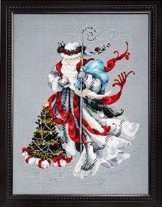 free christmas cross stitch patterns | Mirabilia Cross Stitch Patterns - Erica's Craft & Sewing Center