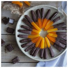 Orange Stick, Just Desserts, Chocolate, Eat, Recipes, Food, Drink, Beverage, Schokolade