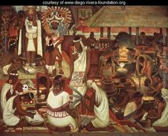 Painter and muralist Diego Rivera sought to make art that reflected the lives of the working class and native peoples of Mexico Diego Rivera Art, Diego Rivera Frida Kahlo, Frida And Diego, Mural Painting, Painting & Drawing, Famous Mexican Painters, Latino Artists, Sculpture Textile, Mexican People