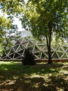 Geodesic Dome, Converted to Aviary as part of Queens Zoo