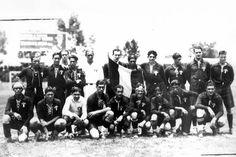 Selección Mexicana de Fútbol que participo en el Primer Campeonatio Mundial de Fútbol Uruguay 1930.
