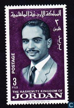 1966 Jordan - King Hussein
