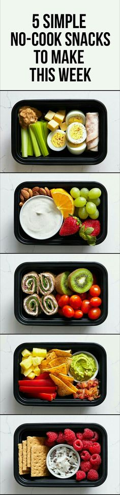 Healthy and nutritious snack ideas