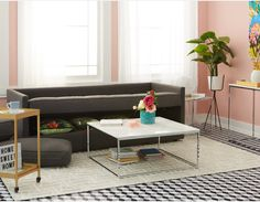 SERENA - Sofa and Guest Bed with Storage - Charcoal