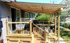 Pergola Ideas For Patio Deck With Pergola, Backyard Pergola, Pergola Shade, Patio Roof, Pergola Ideas, Pergola Kits, Rustic Pergola, Pergola Roof, Patio Deck Designs