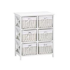 $79.99 JYSK DINA 6 Shelf (White)