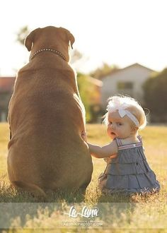 OH NO! A double whammy! A Fat Dog and a Baby!