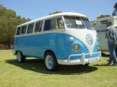 1970's Volkswagen van. My dream car...er I mean van.