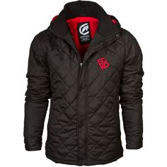 Ecko Men's Red Quilted Hooded Jacket £39.99