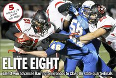 The Barrington Broncos take the spotlight on the cover of this week's Barrington Suburban Life newspaper. But the 11.14.2013 issue holds much more than fuel for Bronco Fever. We have a sneak peek at this week's stories, today at 365Barrington.com.