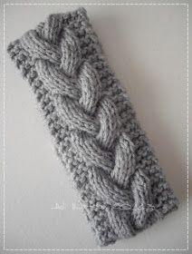 knit headband pattern The Rambling Yarn Owl : Winter Warmer Cable Knitting Patterns, Easy Knitting, Knitting Stitches, Knit Patterns, Knitting Designs, Doll Patterns, Knitted Headband Free Pattern, Winter Warmers, Knit Crochet
