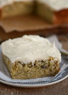 Banana Snack Cake with Cream Cheese Frosting | eBay