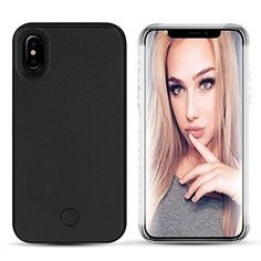 coque iphone xs led