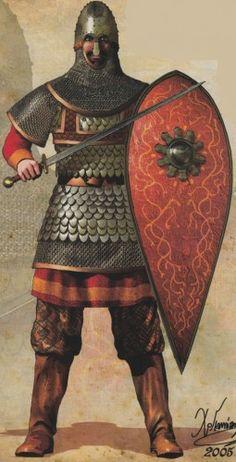 11th-12th Century Byzantine Soldier