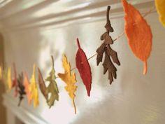 Falling Autumn Felt