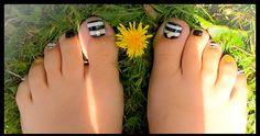 """Monochrome Nail Art by """"Lorena Style"""""""