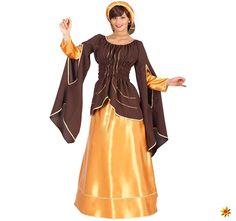 Damen Kostüm Mittelalter historisches Mittelalterkleid deluxe Medieval Dress, Costumes For Women, Elegant, Dresses With Sleeves, Disney Princess, Lady, Long Sleeve, Hair Garland, Female Costumes