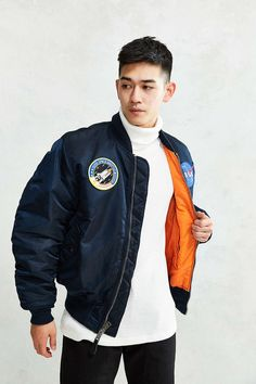 Alpha Industries NASA MA-1 Bomber Jacket - Urban Outfitters