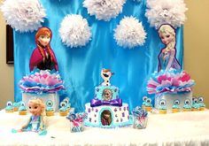 Frozen (Disney) Birthday Party Ideas   Photo 3 of 18   Catch My Party