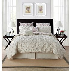 VCNY Heather 8-piece Comforter Set