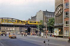 DDR, Berlin, Stargader Straße Ecke Schönhauser Allee, 1980