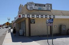 Route 66 Museum in Victorville, California.