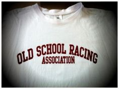 $19,90 Old School Racing Ass. College Style Logo Shirt. German Design, German print.
