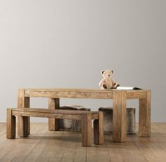 Vintage Parsons Play Table   Playroom   Restoration Hardware Baby & Child