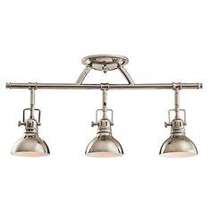 Kichler Adjustable Rail Light for Ceiling or Wall Mount | 7050PN | Destination Lighting