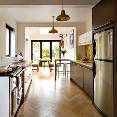 Neutral kitchen with retro tiles ideas for you - kitchen design ideas, kitchen remodel, kitchen remodel ideas, true food kitchen