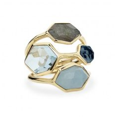 Ippolita: 4-Stone Cluster Ring in Starry Night